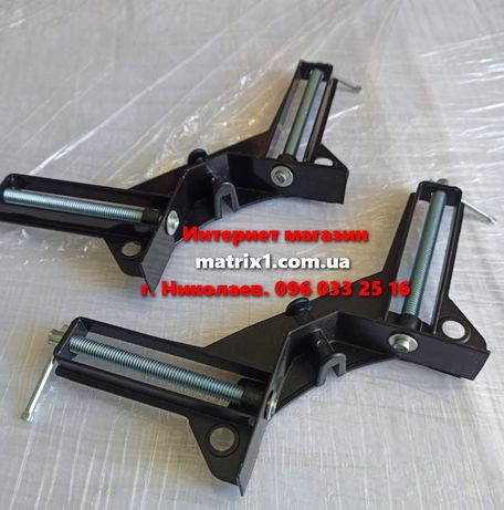 Струбцина угловая, 75 мм, алюминиевая Sparta 203205