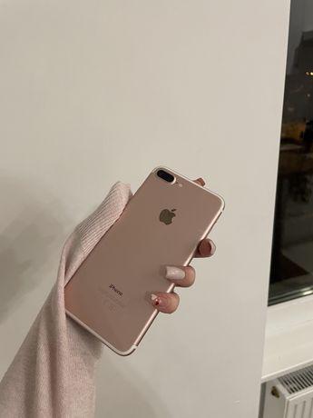 iPhone 7+ rose gold, świetny stan! Gratis nowa szybka i case!