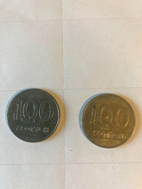 Moneta 100 zl 1990