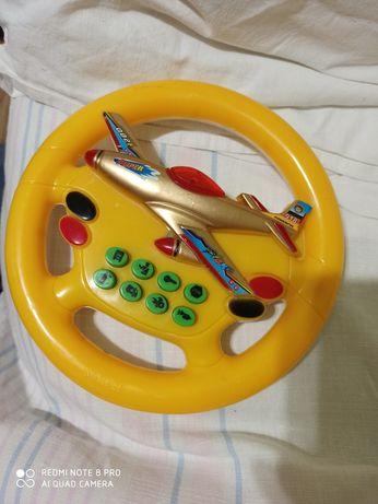 Игрушка руль музыкальный рабочий