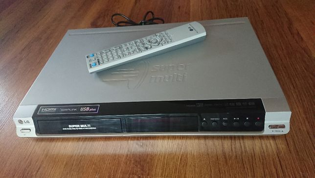 Nagrywarka DVD lg hdd/dvd recorder rh277h