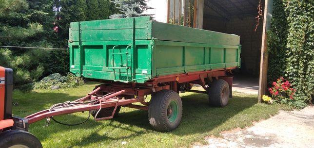 Przyczepa rolnicza hl60.01 trzy Stronny wywrot 7 ton rzepaku