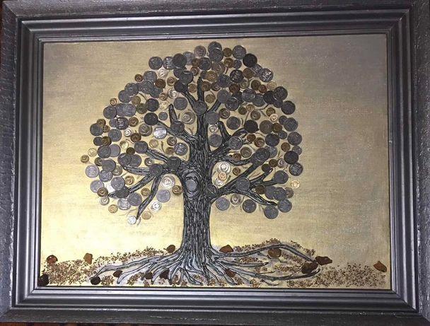 Картина грошове дерево