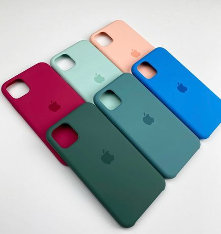 Силиконовый чехол на Iphone айфон 11 PLUS 5 XR MAX 7 8 Xs pro SE 6 12