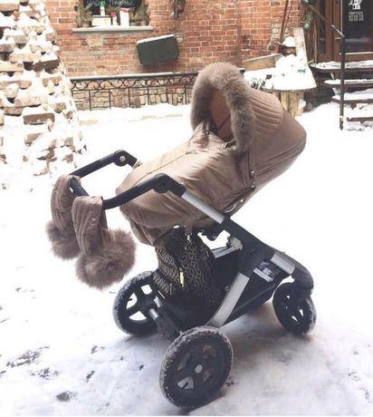 Зимник на коляску Stokke Trailz Xplore Crusi stoke