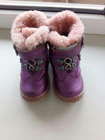 Зимние сапожки ботинки на девочку