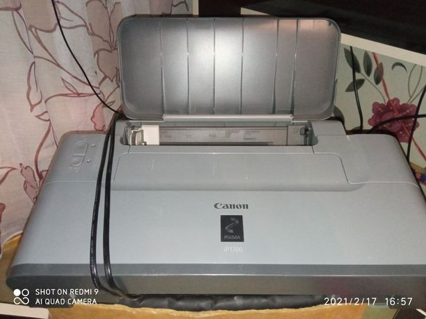 Принтер canon ip1700 pixma