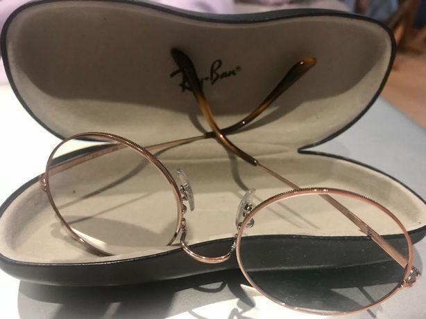 Óculos Ray ban Armação Rosa Gold