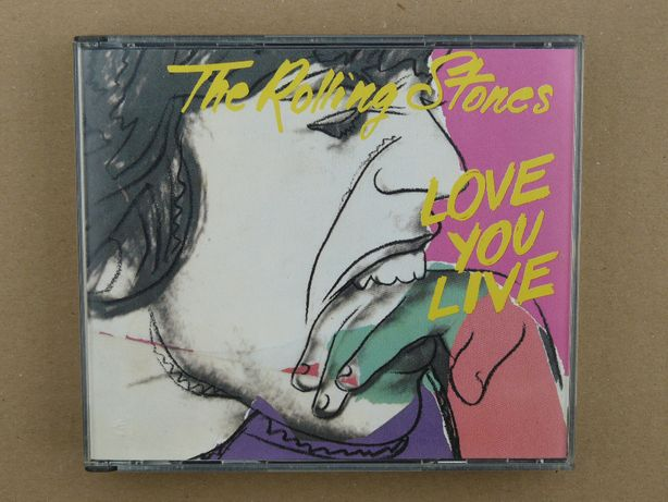 2cd The Rolling Stones - Love You Live 1990 FATBOX wyd.EU tł.AUSTRIA