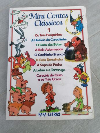 Livro infantil - Mini Contos Clássicos Vol. 1