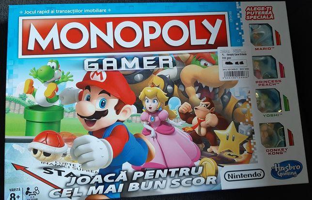 Nintendo Mario Monopoly Gamer Unikat! Po rumuńsku! Pomyłka magazynowa