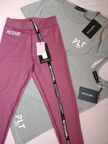 Лосины штаны одежда для занятий спортом PLT Pretty Little Thing