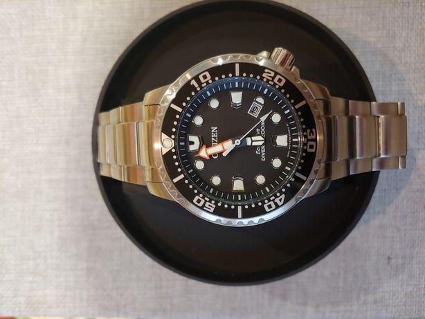 Citizen bn0150-61e promaster diver solar eco drive wr200