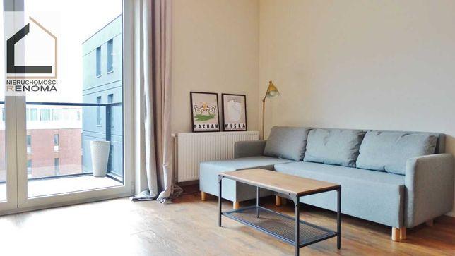 Nowy komfortowo wykończony apartament na wynajem na Chwaliszewie