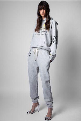 Женский серый костюм Zadig & Voltaire
