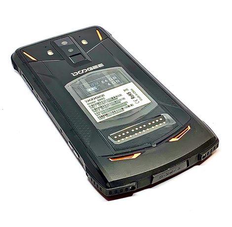 DOOGEE S90C wzmacniany 4/64 czerń/pomarańcz