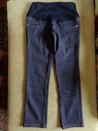 теплые джинсы брюки с начесом для беременных