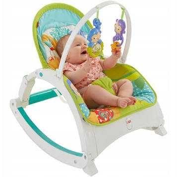 Fotelik od niemowlaka do przedszkolaka fisher price