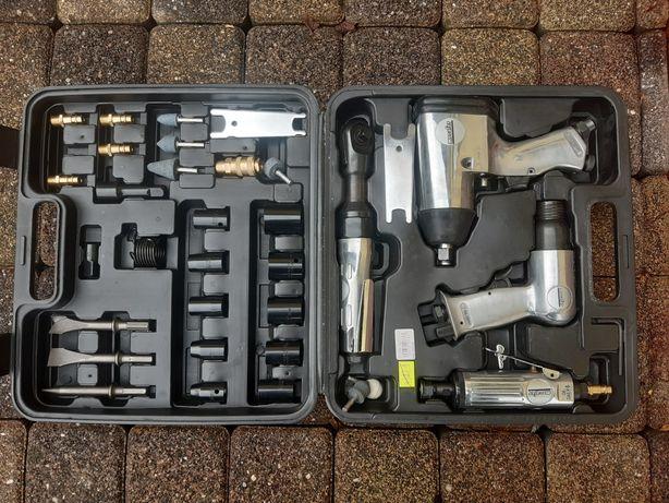 Zestaw narzędzi pneumatycznych na sprężone powietrze