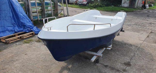 Sprzedam łódź wiosłowo - motorową ROXA 430  Standard