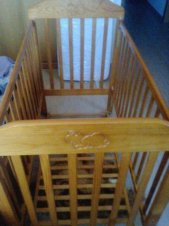 cama grades com colchão para bébé