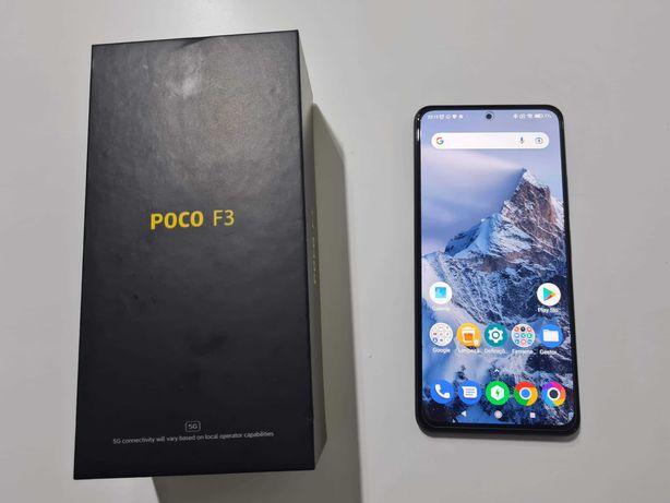 Xiaomi Poco F3 com Fatura/Garantia (Amazon) + Capa e Vidro Temperado