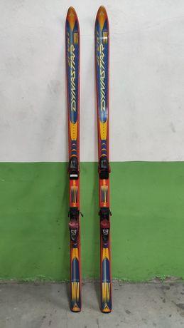 Skis para uso ou decoração.