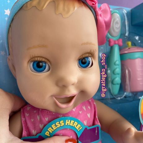 Интерактивная кукла Лувабелла Mia Mealtime ОРИГИНАЛ Spinmaster США