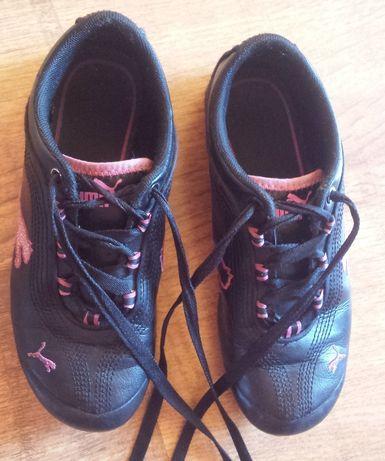 Buty skórzane PUMA dziewczęce rozm. 35 21,5cm