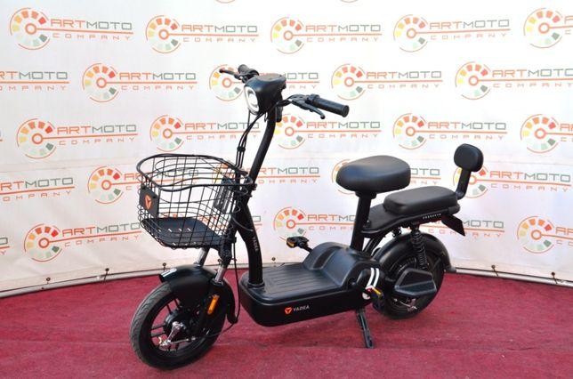 Новый электровелосипед YADEA JS 400W Официально в АРТМОТО скутер