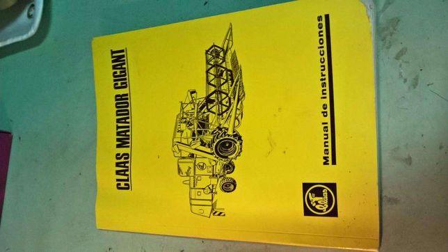Manual CLAAS Matador Gigant