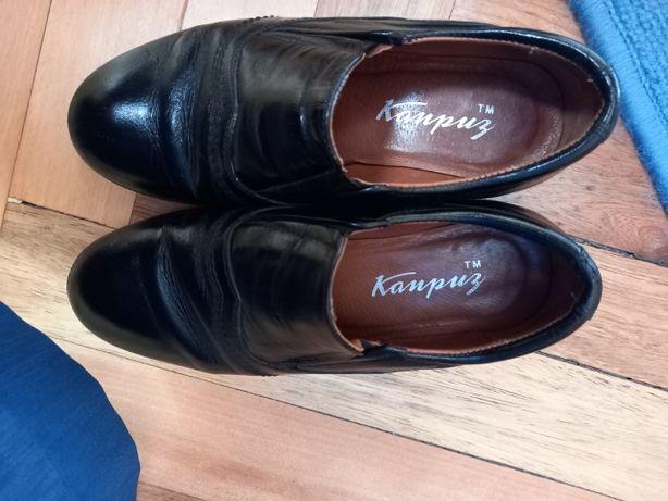 Кожанные туфли Каприз для мальчика р.30, 31 в школу