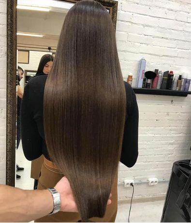 Трессы натуральные славянские волосы ручной работы LUX (VIP) качества