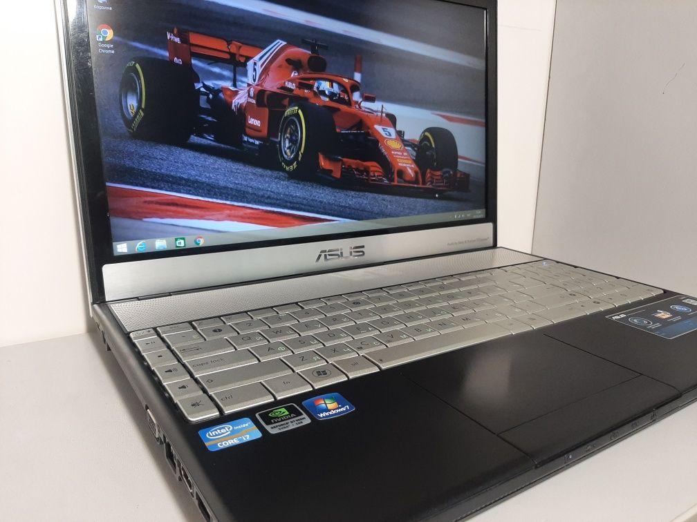 """ноутбук ASUS N55S 15.6"""" IPS FHD Core i7-2670QM 3.1ГГц 6Гб 750Гб GT555M"""