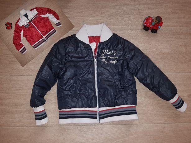 Куртка двусторонняя до 3,5 лет см.замеры