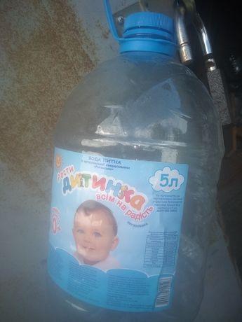 Бутыль 5ти литровый.