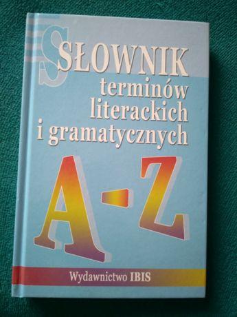 Słownik terminów literackich i gramatycznych