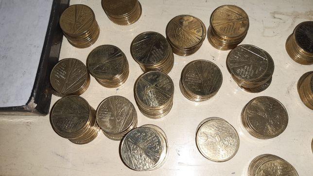 50шт Юбилейная гривна 60 Лет Победы Солдаты 2005год монеты оптом
