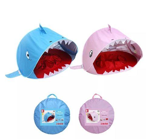Tenda de praia com piscina Baby Shark