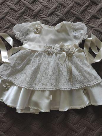 Очень красивое платье для крещения