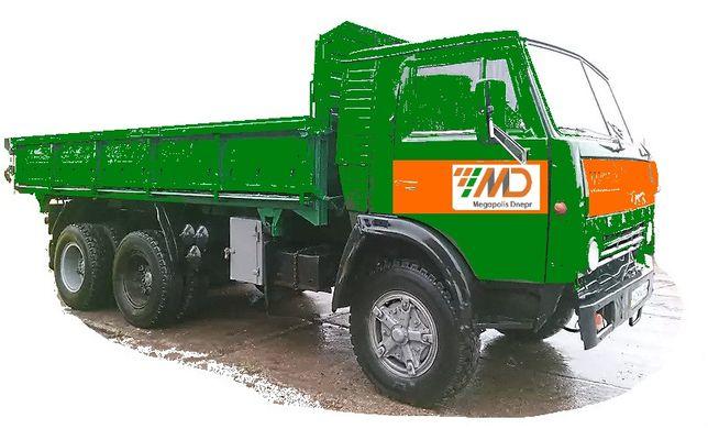 Аренда КАМАЗ 10 тон самосвал, бортовой, по Днепру 550 грн /час