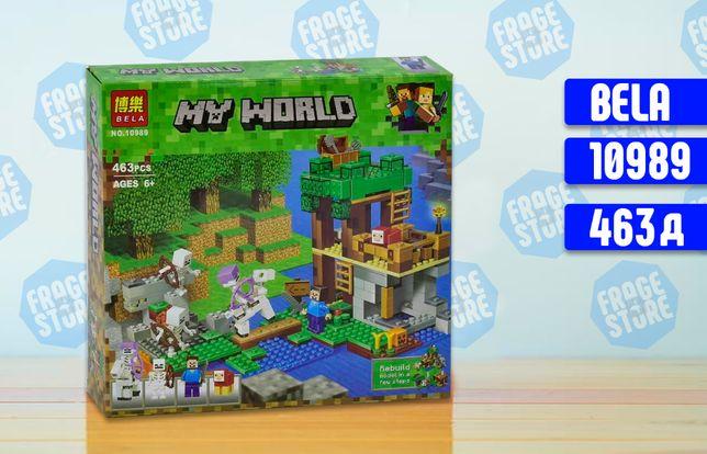 """Конструктор Bela Minecraft 10989 """"Нападение армии скелетов, 463 д лего"""