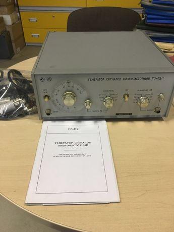 Генератор сигналов низкочастотный Г3-112/1