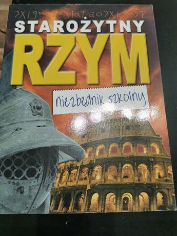 Starożytny Rzym niezbędnik szkolny książka nauka historia