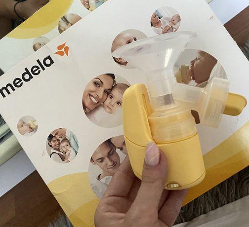 Laktator Medela mini elektryczny + nowe dodatki Medela