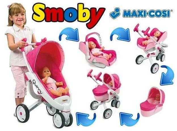 Коляска Франция 5 в 1 для куклы Smoby 550389