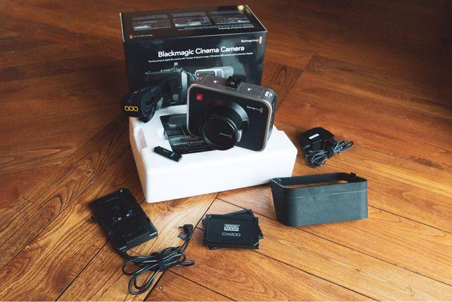 Blackmagic Cinema Camera 2.5K + Acessórios