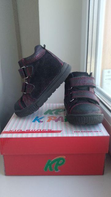 Деми ботинки 24 р 15,5 Kemal pafi демисезонные полуботинки утепленные