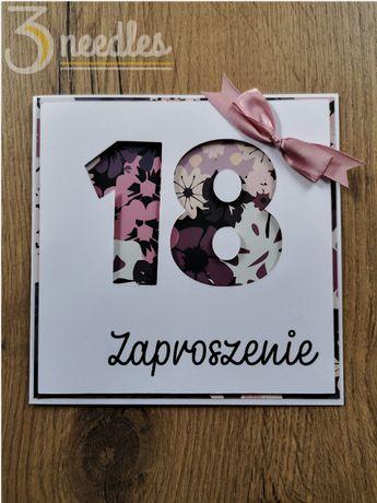 "Zaproszenie ""Pink"""