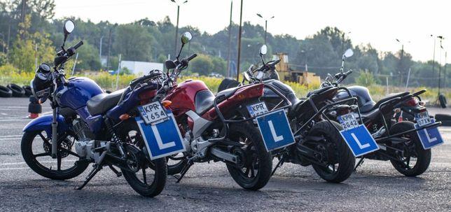 Jazdy doszkalające motocyklem kursy jazdy kat. A1, A2, A YAMAHA MT 07